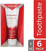 colgate radiant optic white toothpaste