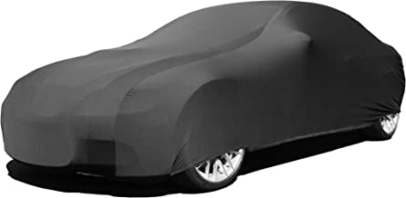 Indoor Car Cover Compatible with Porsche 356 1948-1965 - Black Satin - Ultra Soft Indoor Material - Guaranteed Keep Vehicle Looking Between Use - Includes Storage Bag