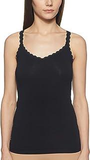 Marks & Spencer Women's Cotton Rich Lace Trim Vest