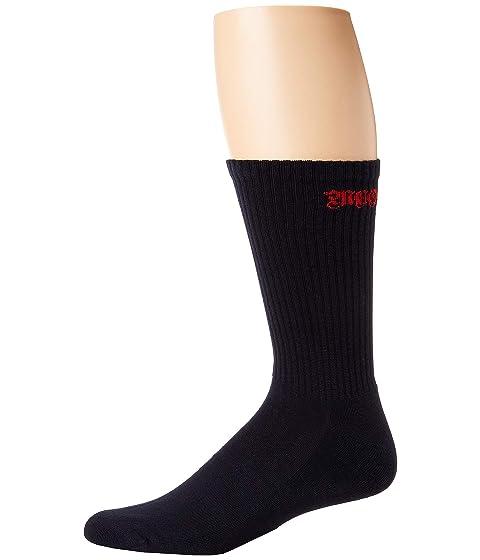 Alexander McQueen Gothic Logo Socks
