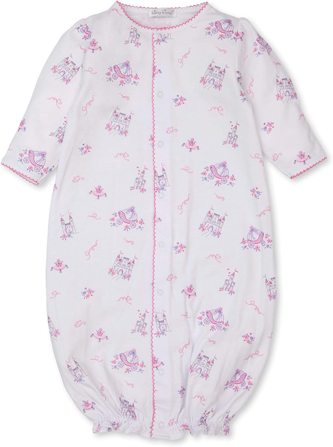 Kissy Kissy Baby-Girls Infant Castle Couture Print Convertible Gown