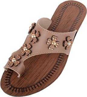 ABSOLUTE FOOTWEAR Womens Slip On Summer/Holiday/Beach Sandals/Shoes/Mules