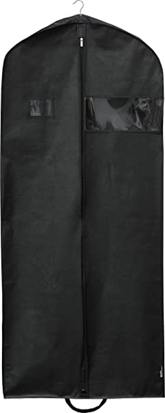 Simplehousware 60 Inch Heavy Duty Garment Bag For Suits Tuxedos Dresses Coats