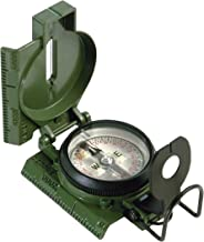 Cammenga Official US Military Tritium Lensatic Compass, Accurate Waterproof Hand Held Compasses with Pouch for Hiking Camp...