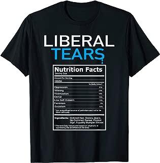 Liberal Tears Anti Liberal Pro Trump Republican Gift T-Shirt