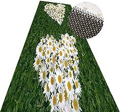 YANZHEN Hallway Runner Rugs Non-Slip Backing 3D Grass Long Carpet Soft Intensive Antifouling, Multiple Sizes (Color : Gree...
