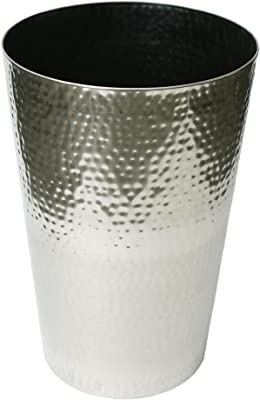 """Algreen 29840 Stainless Planter, 15.75"""" x 23.5"""", Brushed Finish"""