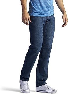 LEE Men's Regular Men's Fit Stretch Straight Leg Jean