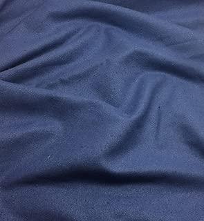 Periwinkle Blue - Raw Silk Noil Fabric