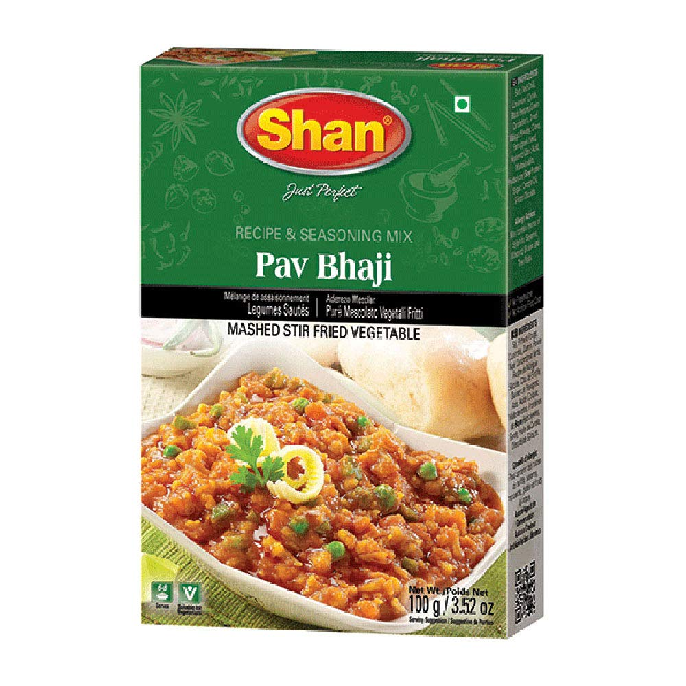 Shan 2021 autumn and winter new Pav Bhaji Recipe and Seasoning Mix 50g Po 1.76 Spice Luxury goods - oz