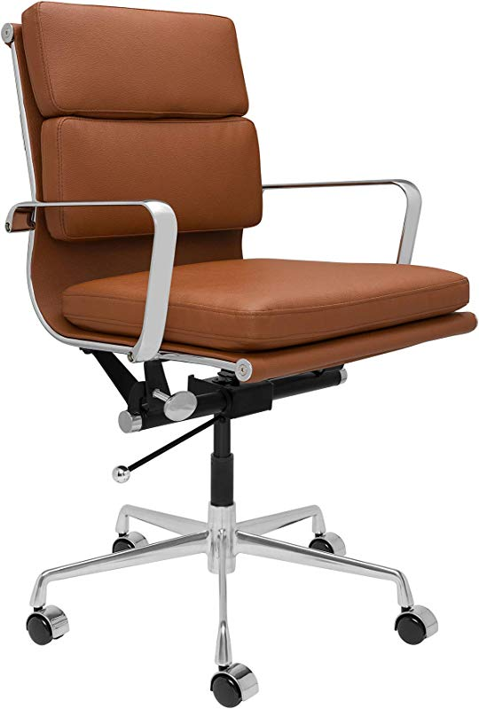 SOHO Soft Pad Management Chair Brown