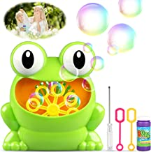 TedGem Máquina de Burbujas, Maquina Pompas de Jabon, Portátil Máquina de Burbujas Haga más de 500 Burbujas por Minuto, Adecuado para niños Fiesta de cumpleaños, Navidad, Bodas, Reuniones Familiares
