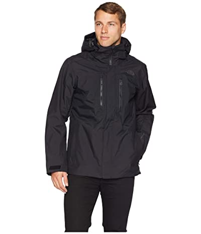 The North Face Clement Triclimate(r) Jacket (TNF Black/TNF Black) Men