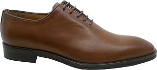 Almeida - Zapatos para hombre grandes y altos hechos a mano con suela de cuero