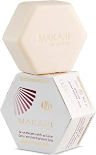 Makari Classic Caviar Enriched Treatment Soap 7.0 oz – Moisturizing & Brightening Bar Soap for Face & Body – Anti-Aging Cleanser Combats Dryness, Dullness, Wrinkles & Blemishes