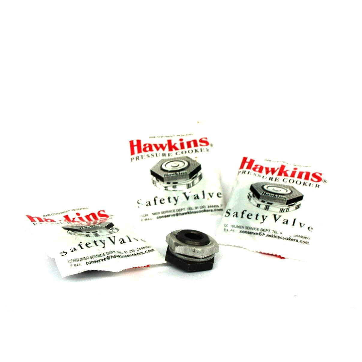 均等にスリッパカートHawkins B1010 3-Piece Pressure Cooker Safety Valve, 1.5 to 14-Liter by Hawkins
