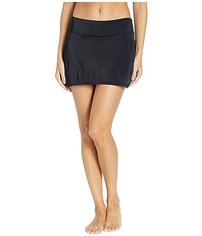 Skirt Sports Swim Skirt (Black) Women