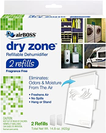 airBOSS Dry Zone Refillable *机 - 2 次装 白色,*