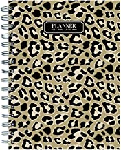 TF Publishing 19-9264A July 2018 - June 2019 Leopard Medium Weekly Monthly Planner, 6.5 x 8