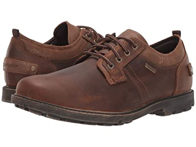 Rockport Rugged Bucks II Plain Toe Ox (Boston Tan) Men