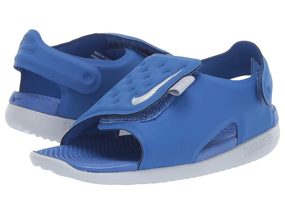 Nike Kids Sunray Adjust 5 (Infant/Toddler) (Game Royal/Wolf Grey) Boys Shoes