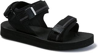Lacoste Suruga 120 1 CFA Women's Sandals, Black/Dark Grey