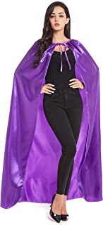 Adult Halloween Costumes Cape Cloak Knight Witches Vampires Cosplay