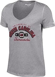 NCAA womens NCAA Women's University Short Sleeve Tag less V Neck Tee
