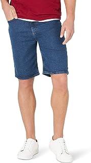 سروال جينز رجالي كلاسيكي ملائم ومريح من Wrangler Authentics من خمسة جيوب، لون حجري، مقاس 44