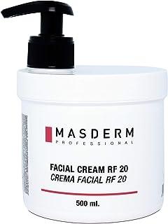 MASDERM | Crema Facial Radiofrecuencia Hidratante | Antiarrugas | Ácido Hialurónico | Colágeno | Profesional | Mujer | 500gr