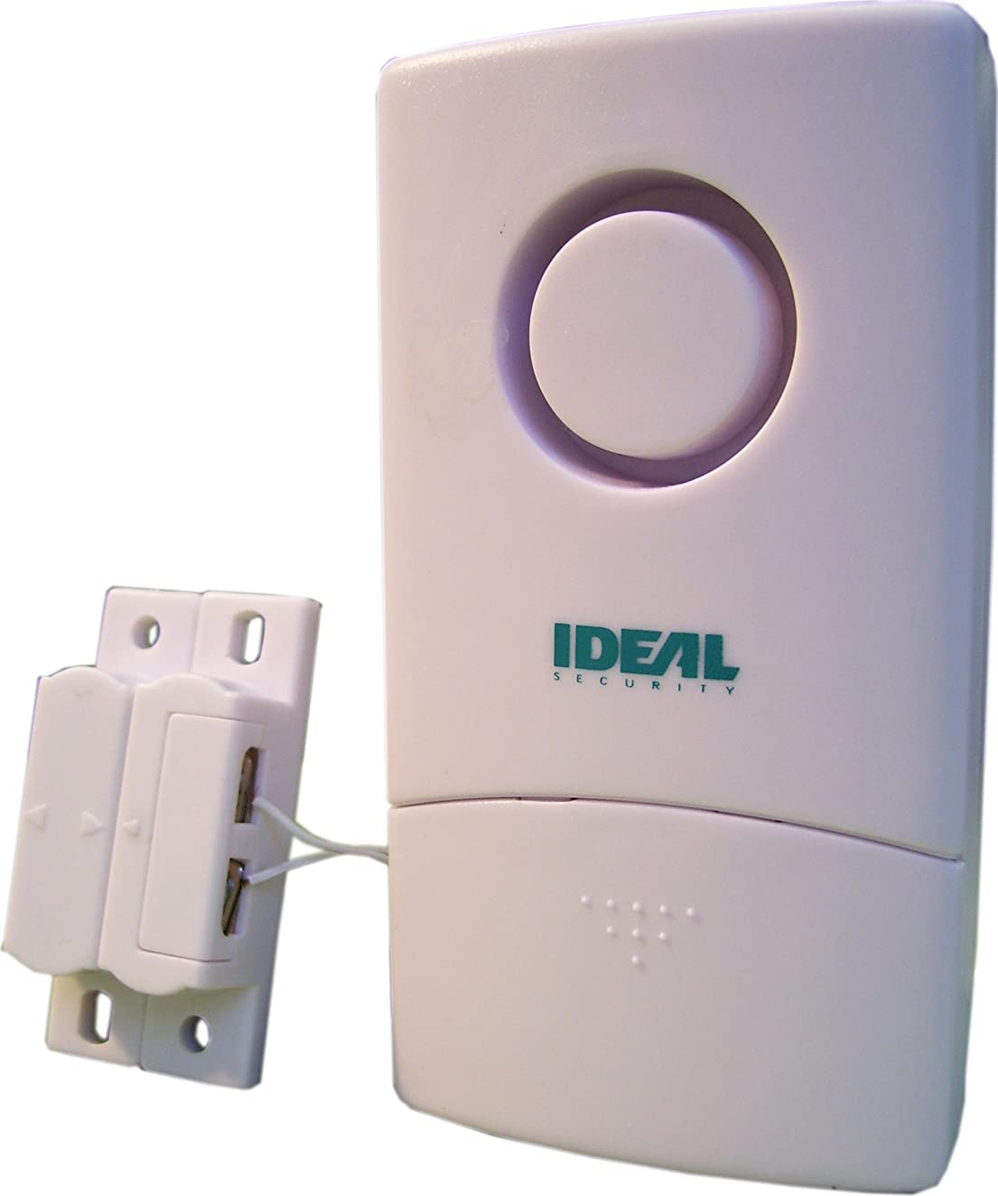 Ideal Security SK605 SOLO Door and Window Contact Alarm with Wired Lead Pleasant Chime and Loud Siren