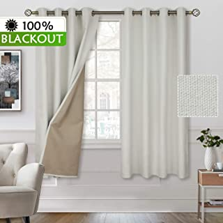 Best ivory bedroom curtains Reviews