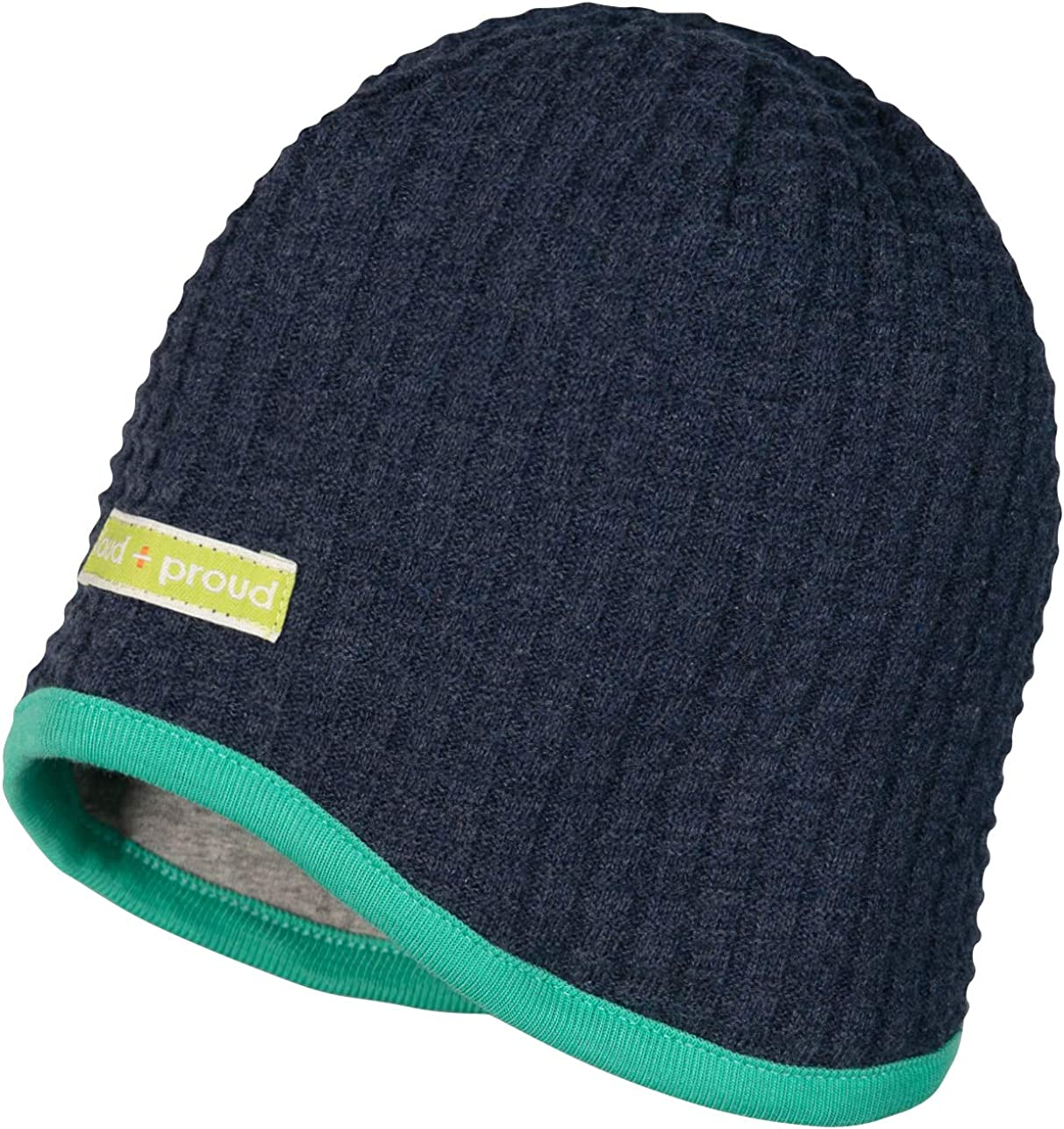 Loud Proud Wendem/ütze Strick Aus Bio Baumwolle Gots Zertifiziert Bonnet Mixte b/éb/é