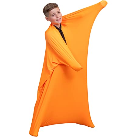 Full-Body Wrap to Relieve Stress QUAN DI Dynamic Movement Sensory Sock Anxiety Hyposensitivity Comfortable Girls 44 Tall x 27 Wide Breathable Sack for Boys Safe Stretchy
