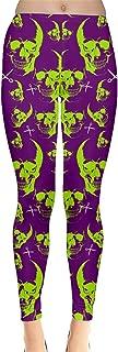 Womens Stretchy Tights Halloween Spider Web Pattern Fashion Leggings, XS-5XL