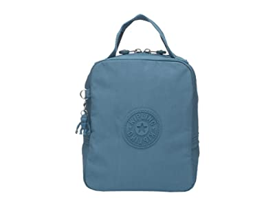 Kipling Lyla Insulated Lunch Bag (Turquoise Sea) Handbags