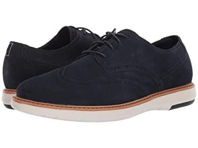 Clarks Draper Wing (Navy Suede) Men