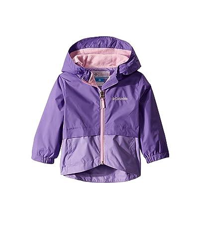 Columbia Kids Rain-Zillatm Jacket (Toddler) (Grape Gum/Paisley Purple/Pink Clover) Girl