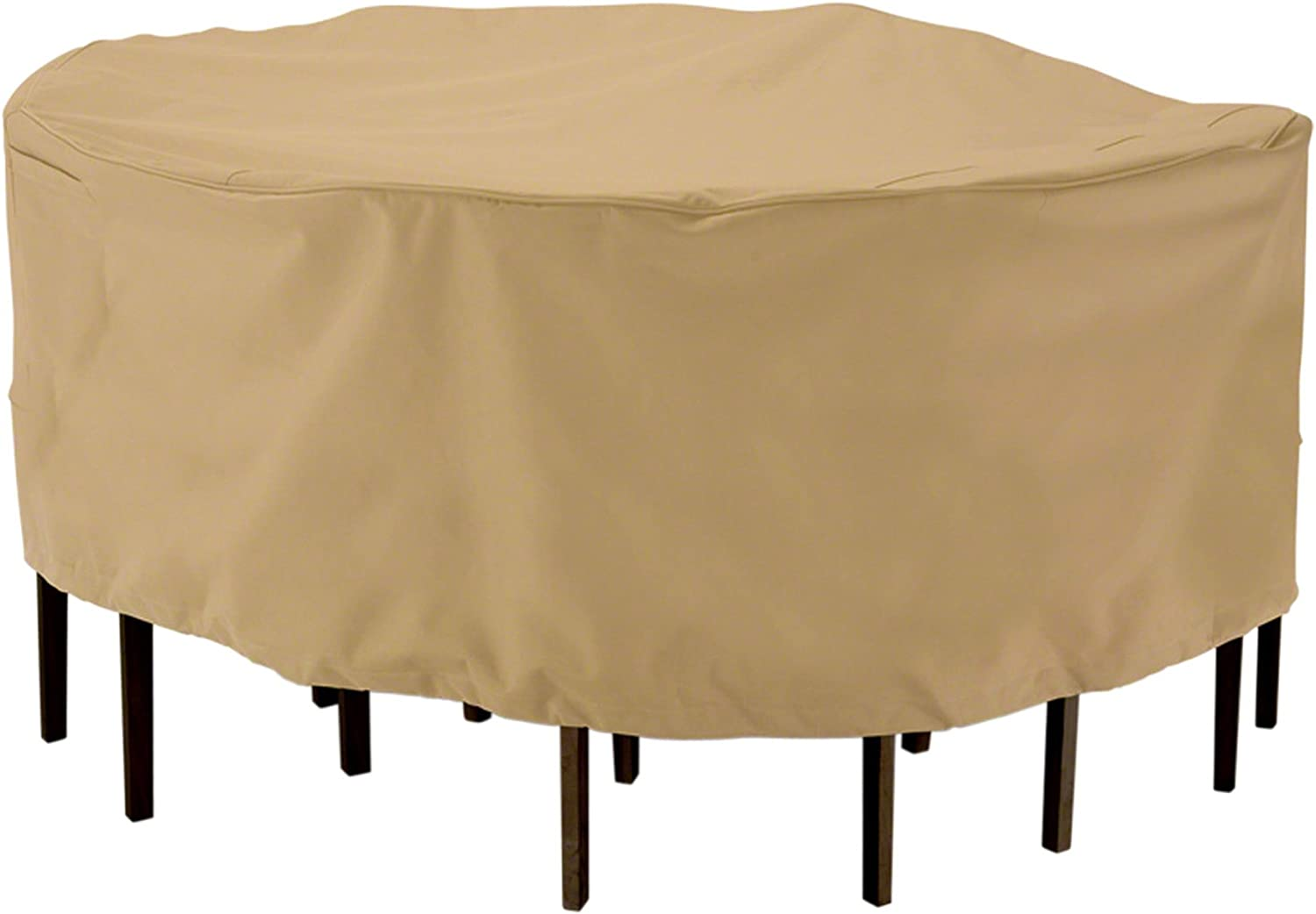 Classic Accessories Terrazzo Shipping included Award Round Patio Cover Chair Set Table