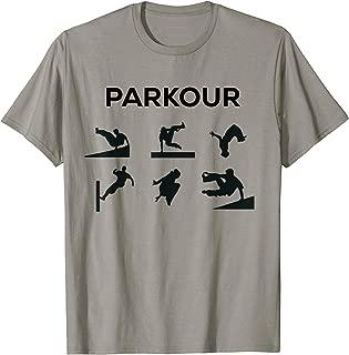 Parkour Silhouette T-Shirt Street Acrobat Gymnast But Cooler