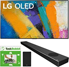$3793 » LG OLED65GXPUA 65-inch GX 4K Smart OLED TV with AI ThinQ (2020 Model) Bundle SN9YG 5.1.2 ch High Res Audio Sound Bar with Dolby Atmos and Google Assistant + TaskRabbit Installation Services