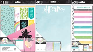 Classic Happy Planner Student Back to School - Happy Student Accessory Pack, Assignments Half Sheets and Dream Dot Grid Fill Paper