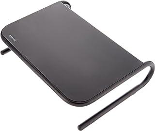 Amazon Basics - Soporte de metal para monitor, color negro, Pack de 8