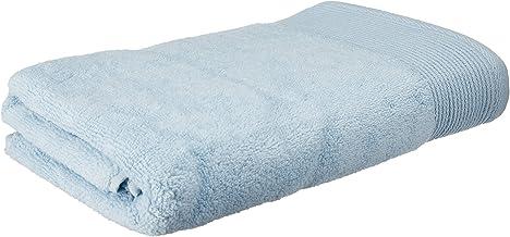 Canopy Essential Minoru 100% Zero Twist Cotton Soft Bath Towel, 60x120cm, Blue