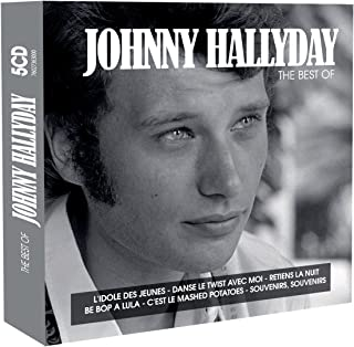 HALLYDAY, JOHNNY - The best of (5 CD)
