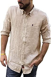 the best attitude 24a96 8cc70 Amazon.it: camicia lino uomo - 4121315031: Abbigliamento