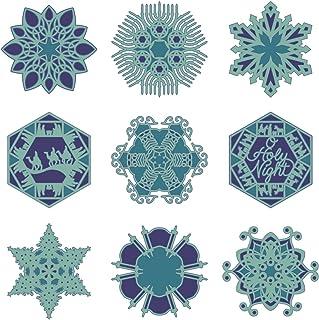 Cricut 2002575 Holiday Snowflakes Cartridge