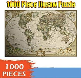 Jigsaw Puzzle 1000 Pieces for Adults, Landscape Pattern Adult Children Puzzle Puzzle Intellective Educational Toy GT925