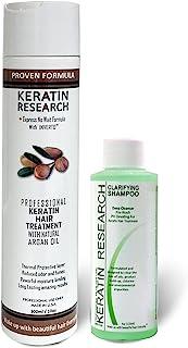 Complex Brazilian Keratin Hair Treatment Professional results Straighten and Smooths Hair (CS 120ml + KT 300ml)
