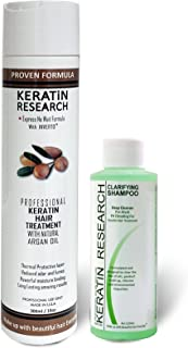 Complex Brazilian Keratin Hair Treatment Professional results Straighten and Smooths Hair (CS 120ml + KT 300ml)